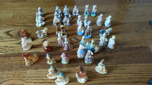 Wade Nursery Rhyme Figurines