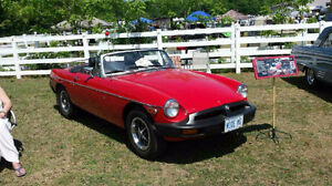 Beautiful Red MGB for Sale