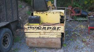 DIESEL DYNAPAC VIBRATORY ROLLER GOOD FOR LAWNS ETC
