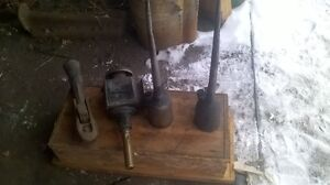 Antique CN Railroad Tools.