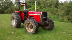 tracteur 383 Massey Ferguson