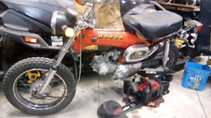 1973 and 1974 Honda ST90