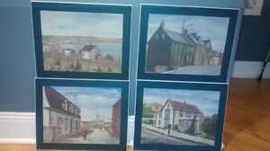 Four matching pictures St. John's Newfoundland image 1