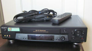 Sony Video Cassette (VHS) Recorder Model SLV-N81/N71