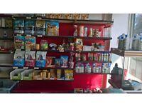 Shop shelfs