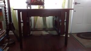 Arts & Crafts style Library Desk