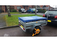 Daxara 148 Leisure Trailer. £500 New + over £100 Of extras.