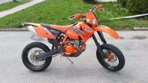 Ktm 525 exc supermoto for sale!!!