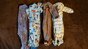 6 months boy sleepers $10/picture