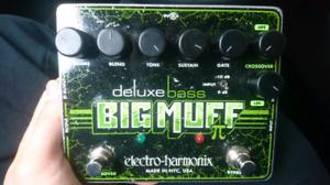 EHX deluxe bass big muff pedal