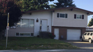 5 Bed/ 2 Full Bath house in Sardis, Chilliwack for rent