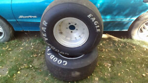 Slicks on Fenton mags - Fits 4.75,5.00 and 5.5 inch bolt pattern