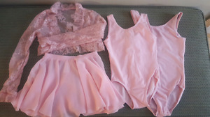 Mondor Ballet Body Suits Size 6x/7 and 8/10