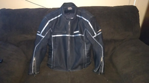 Made 2 ride leather motorcycle jacket with Armour