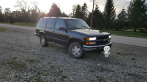 1995 Chevy Tahoe trade for 2500 truck 3/4 ton