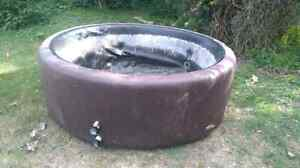Softub with Water heater and lid