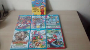 Wii U Games CIB Great Condition