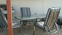 Patio Set - SEATING FOR 6 +