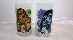 1977 Star Wars Glasses from Burger King