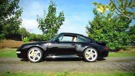 Porsche 911 TURBO (black) 1995