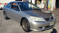 2004 Honda Civic LX Coupe (2 door)