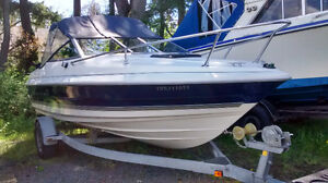 1997 Bayliner Capri 2052 Boat With Trailer