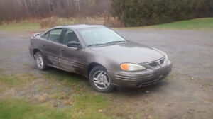 2001 Pontiac Grand Am Berline