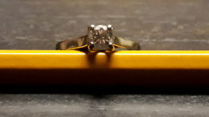 0.43 ct Diamond Solitaire Engagement Ring