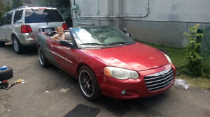 Trading my 04Sebring convertible Limited