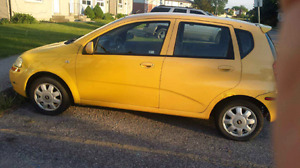 2005 Chevy Aveo LOW KMS