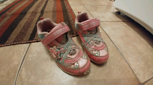 Girls running shoes (size 10)