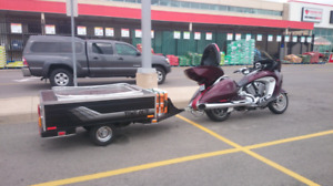 Time Out motorcyle camper