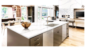 Quartz Granite Kitchen Countertops $23.99 Free Bosco Brand Sink