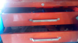 Mastercraft Tool boxes and filled with mastercraft tools