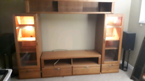Entertainment/ Wall Unit