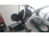 Petite Star Travel System including car seat