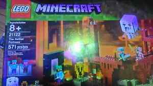 Minecraft lego set The Nether Fortress