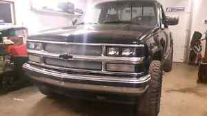 Very solid 1992 stepside z71 silverado from out west