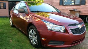 Chevrolet cruze 2012 pas cher