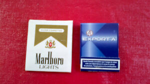 Matchbook Covers-Export 'A' & Marlboro Lights Kitchener / Waterloo Kitchener Area image 1
