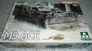 Takom 1/35 US Armored Combat Earthmover M9 ACE