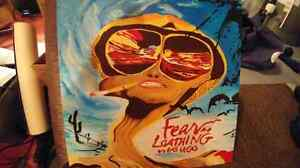 Fear and Loathing In Las Vegas - Hand Painted 2 foot by 2 foot