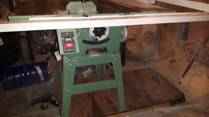 Commercial grade general international table saw $900 2HP - 15A