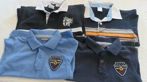4 Pce Boys Brand Name Golf Polo Long Sleeve Tops Size 5 Years