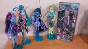 Lot collection monster high doll haunted