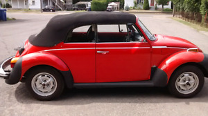 Volkswagen Beetle cabriolet 1979