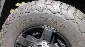 Rims  with almost new tires for sale 285/70/17 and lift kit Stratford Kitchener Area image 5
