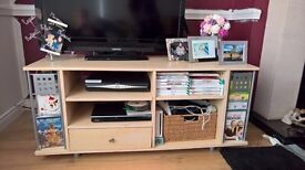 TV unit / with DVD racks