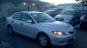 2008 Mazda Mazda3 Sedan only $ 3999 / CERTIFIED & E-TESTED