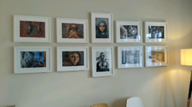 Framed pictures - Salgado / McCurry collection